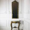 Консоль с зеркалом конца XIX века Франция