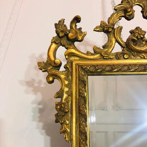 Зеркало рубежа XIX-XX веков, Франция. Размер 51Х96h см.