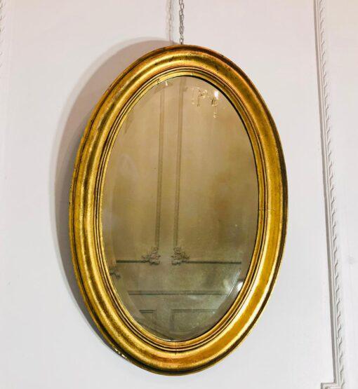 Овальное зеркало рубежа XIX-XX веков, Франция.