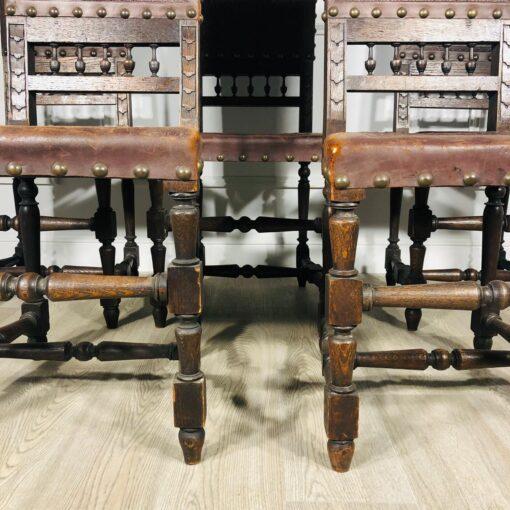 Гарнитур стульев 5 шт. Конец XIX века, Франция