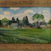 """Картина """"Май в Привалово"""" И.А.Тимченко. 1988 г."""