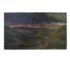 """Картина """"Route de palais a Fosie Pris de Sart. 1914 год."""