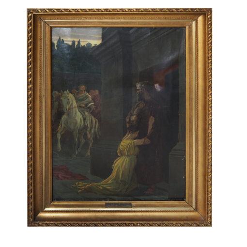 """Картина """"Беглянка"""". Последняя четверть XIX века"""