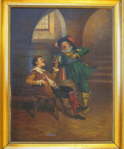 """Картина""""Два вельможи"""".Eser. Конец XIX века."""