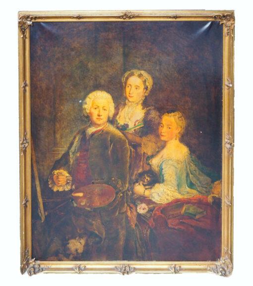 "Картина ""Семейство"". Середина XIX века."