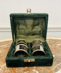 Кольца антикварные для салфеток антикварные первой половины XX века, Европа.