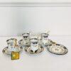 Набор кофейных чашечек и блюдец, 1960-е гг. Limoges, Португалия