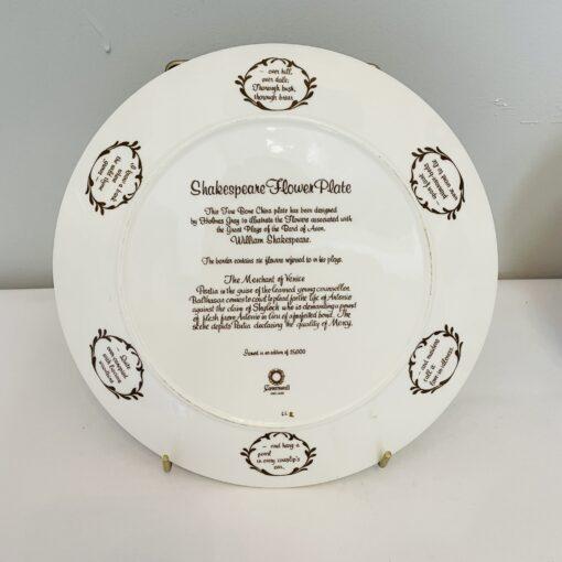 Коллекционная тарелочка Wedgwood, Англия.