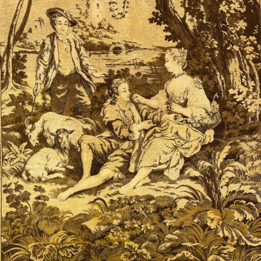 Гобелены парные конца XIX века, Франция