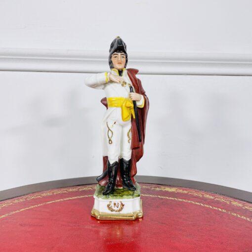 Фарфоровая статуэтка (Мюрат?) из коллекции «Армия Наполеона I» второй половины XX века, Германия.