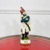 Фарфоровая статуэтка «Офицер пехоты» из коллекции «Армия Наполеона I» второй половины XX века, Германия.