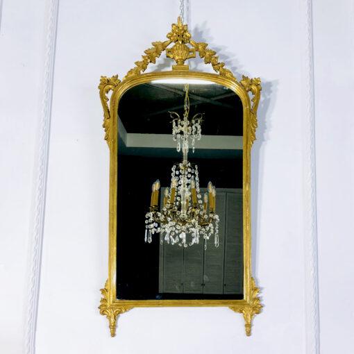 Антикварное зеркало рубежа XIX-XX веков из Франции