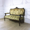 Антикварный диван из палисандра. Конец XIX века, Франция.