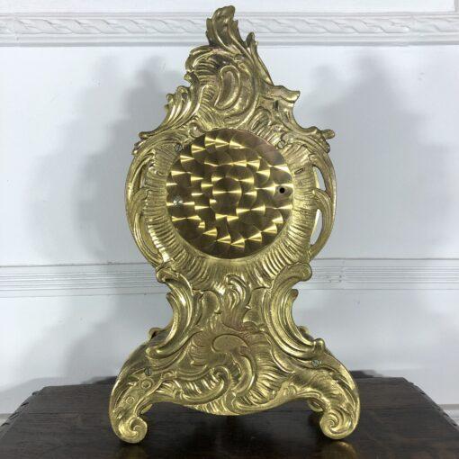 Каминные часы в стиле Louis XV 1970-х годов Франция.