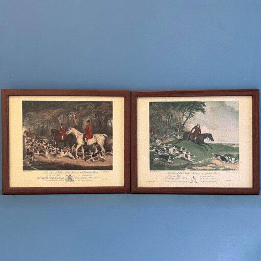 Парные литографии середины XX века, Англия.