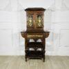 Редкий антикварный китайский шкаф для ювелирных украшений конца XIX века (1880-1890) Китай. Выполнен из палисандра.