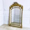 Большое ростовое антикварное зеркало рубежа XIX-XX веков из Франции.