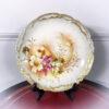 Декоративная антикварная тарелочка начала XX века, Германия.