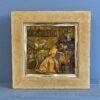 «Дамы с веерами» винтажная, объемная картина, 1980 гг, Испания.