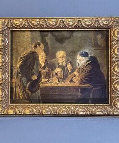 «Застолье» картина середины XX века, Испания.