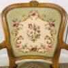 Пара кресел винтажных в стиле Людовика XV из Франции.
