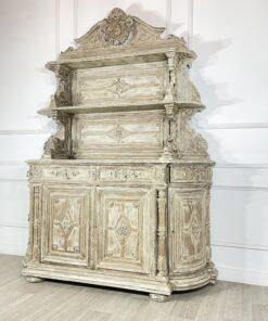 Антикварный открытый буфет рубежа XIX-XX веков из Франции.