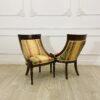 Винтажные парные кресла в стиле ампир 1970-х годов из Франции.