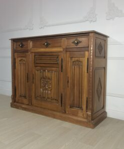 Антикварный поставец первой половины ХХ века из Франции.