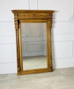 Старинное каминное зеркало начала XX века, Франция.