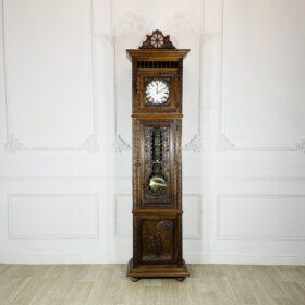 Часы напольные антикварные в бретонском стиле конца XIX века, Cheymol freres.