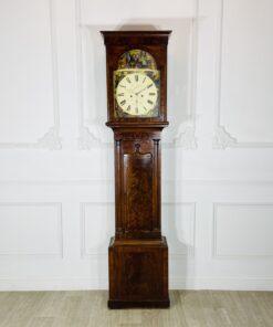 Напольные часы антикварные с ручной росписью Duncan Gray.
