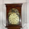 Напольные часы антикварные с ручной росписью Duncan Gray. Фото 1.