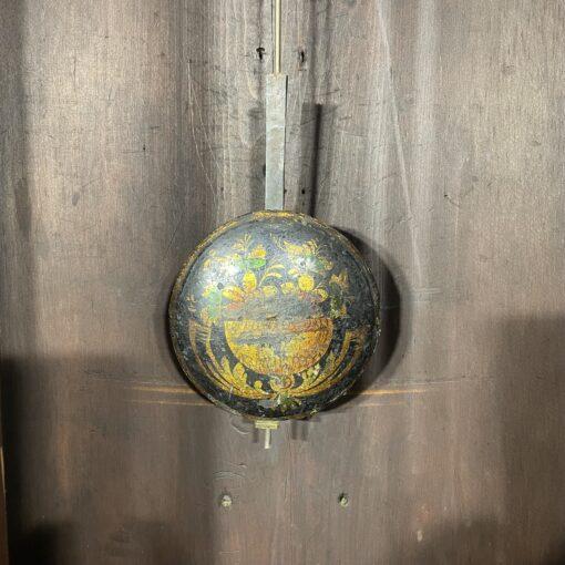 Напольные часы антикварные с ручной росписью Duncan Gray. Фото 2.