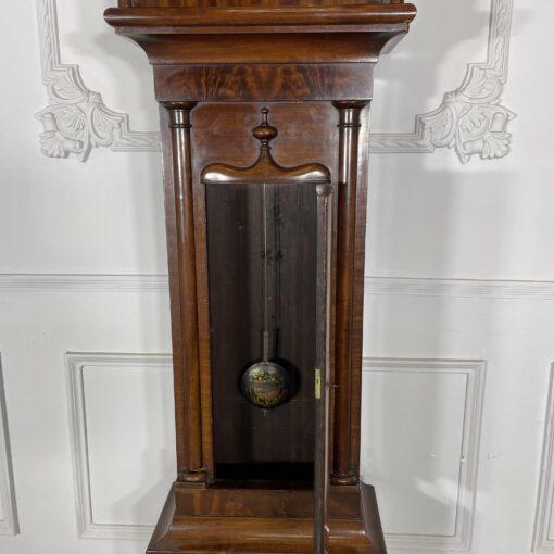 Напольные часы антикварные с ручной росписью Duncan Gray. Фото 3.