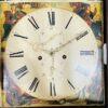 Напольные часы антикварные с ручной росписью Duncan Gray. Фото 7.