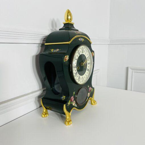 Часы каминные антикварные середины XX века. Фото 1.