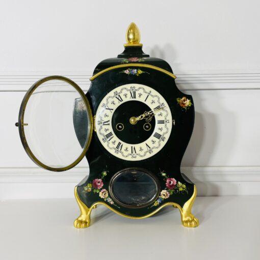 Часы каминные антикварные середины XX века. Фото 2.