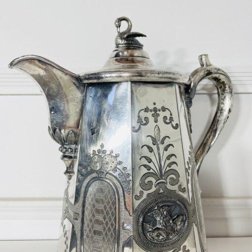 Кофейник антикварный второй половины XIX века, Rogers Smith & Co. Фото 4.