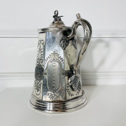 Кофейник антикварный второй половины XIX века, Rogers Smith & Co. Фото 2.