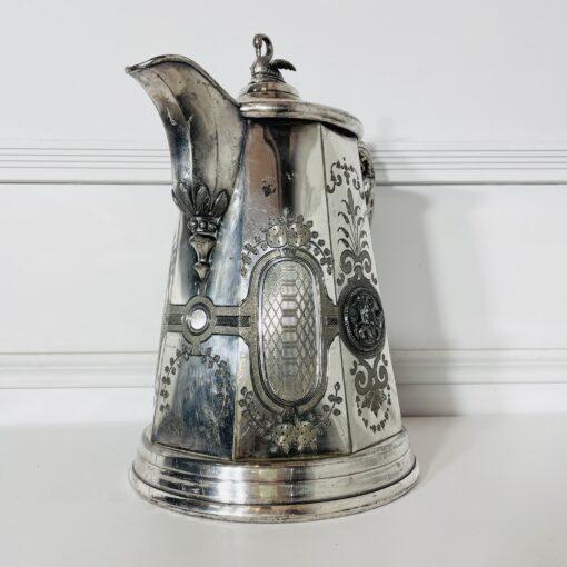 Кофейник антикварный второй половины XIX века, Rogers Smith & Co.
