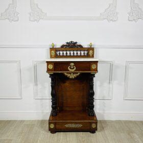 Консоль антикварная Ампир XIX века (1880-1890).