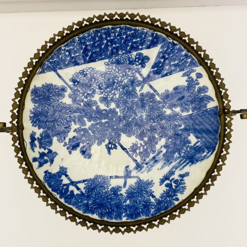 Блюдо-ваза антикварное китайское конца XIX века. Фото 3.