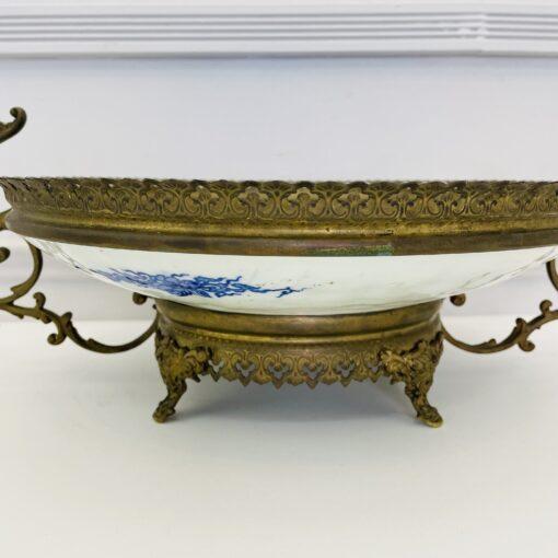 Блюдо-ваза антикварное китайское конца XIX века. Фото 1.