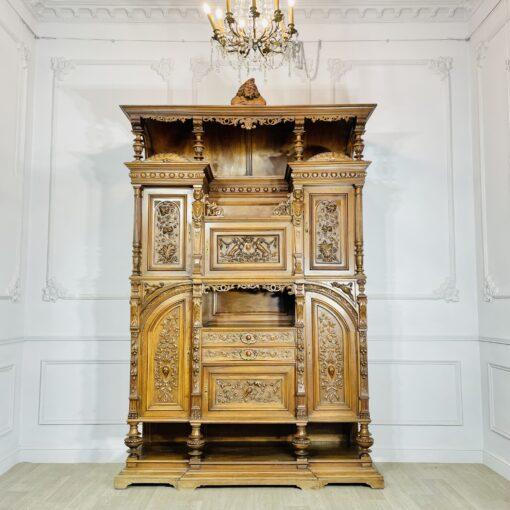 Буфет антикварный эксклюзивный XIX века (1880 гг).